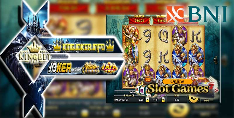 Game Judi Slot Online Deposit Bank BNI 24 Jam